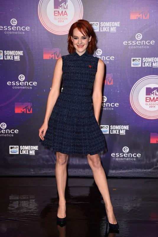 JENA MALONE at MTV EMA 2014