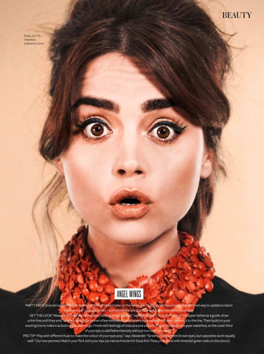 JENNA LOUISE COLEMAN in InStyle Magazine