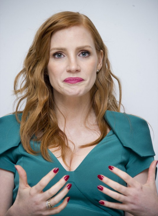 JESSICA CHASTAIN at A Most Violent Year Press Conference