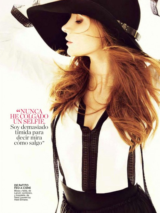 JESSICA CHASTAIN in Glamour