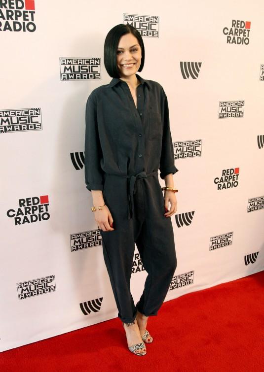 JESSIE J at American Music Awards Radio Row