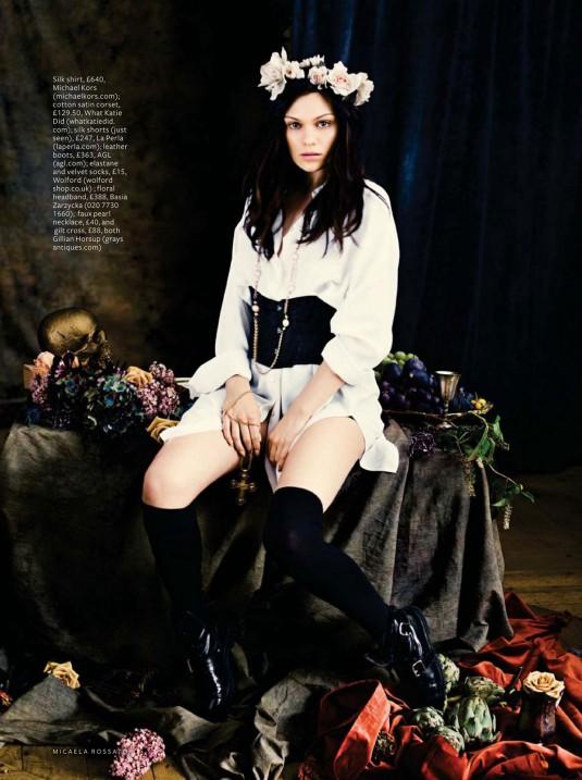 JESSIE J in InStyle Magazine