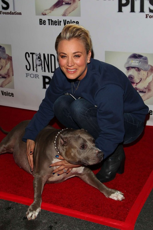 KALEY CUOCO at 2014 Stand Up For The Pits
