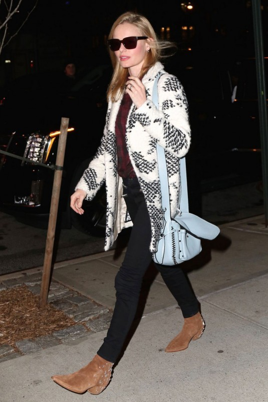 KATE BOSWORTH at The Carlyle Hotel