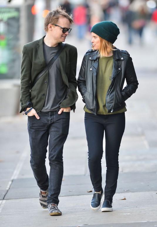 KATE MARA and John Mara Jr. Out in New York