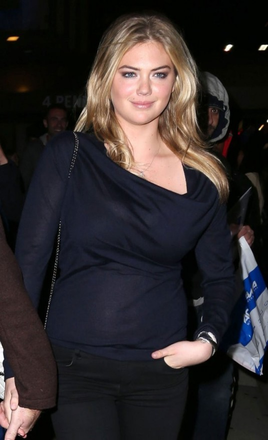 KATE UPTON at Madison Square Garden