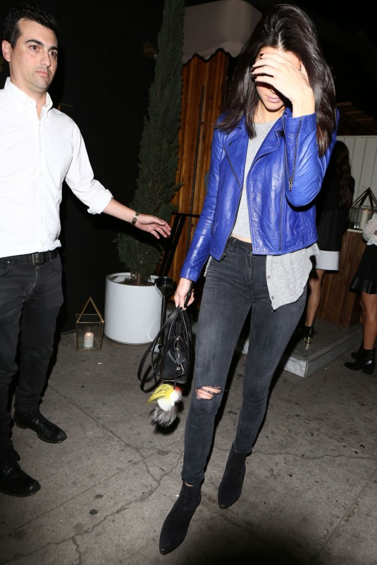 KENDALL JENNER at The Nice Guy Restaurant