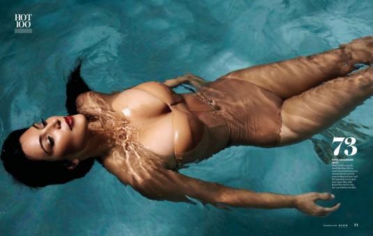 KIM KARDASHIAN in Maxim Magazine
