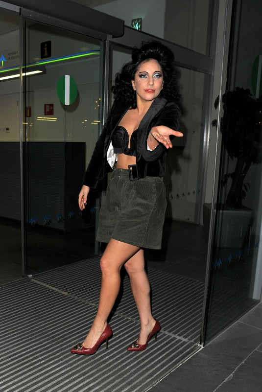 LADY GAGA in Barcelona