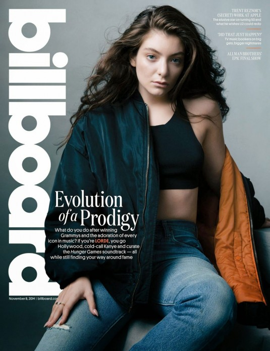 LORDE in Billboard Magazine
