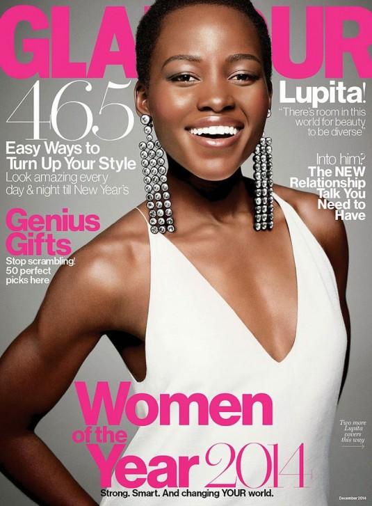 LUPITA NYONG'O in Glamour Magazine
