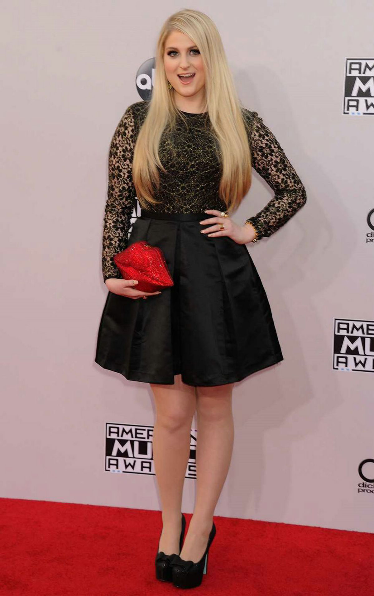 Meghan Trainor At 2014 American Music Awards In Los
