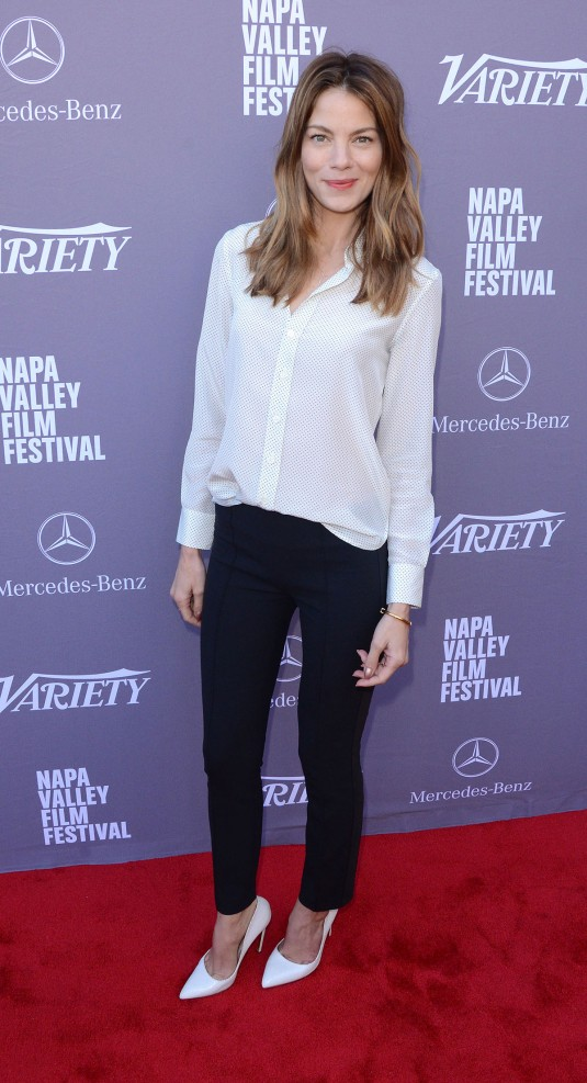 MICHELLE MONAGHAN at Variety's 10 Producers to Watch Brunch