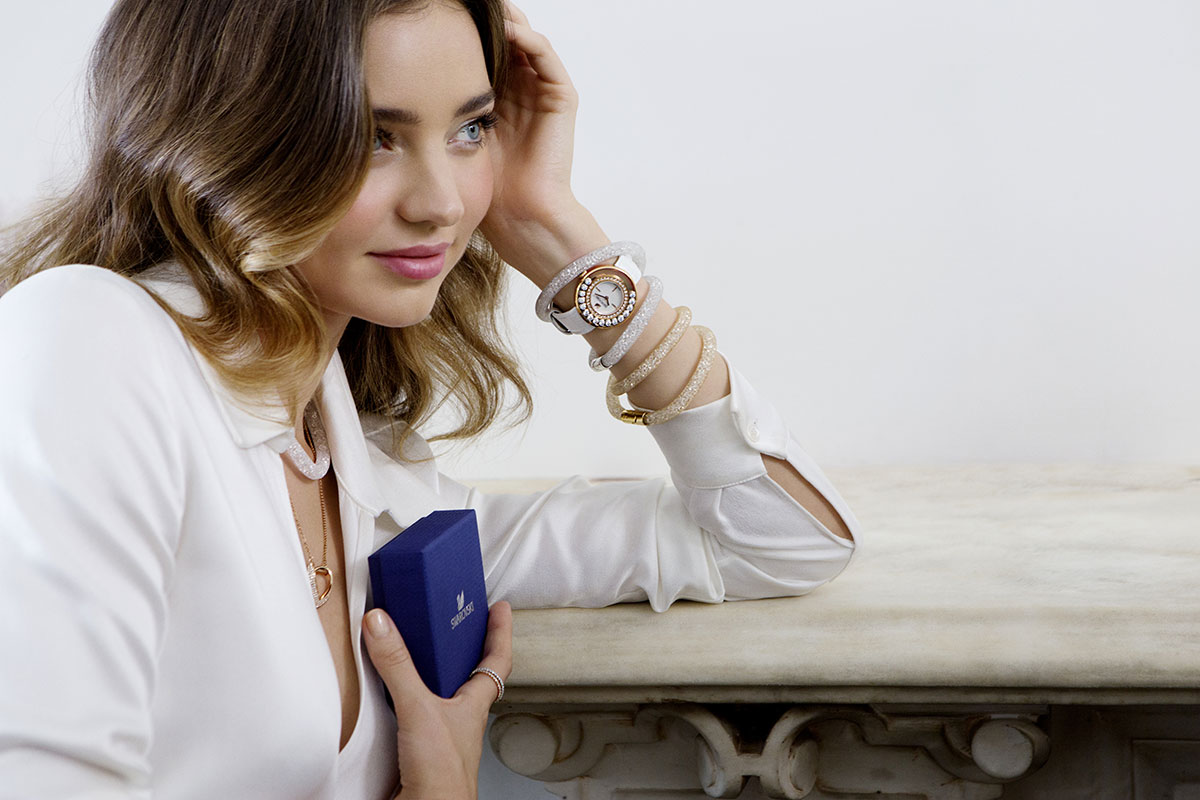 MIRANDA KERR - Swarovski Spring/Summer 2015 Collection ... Miranda Kerr Collection