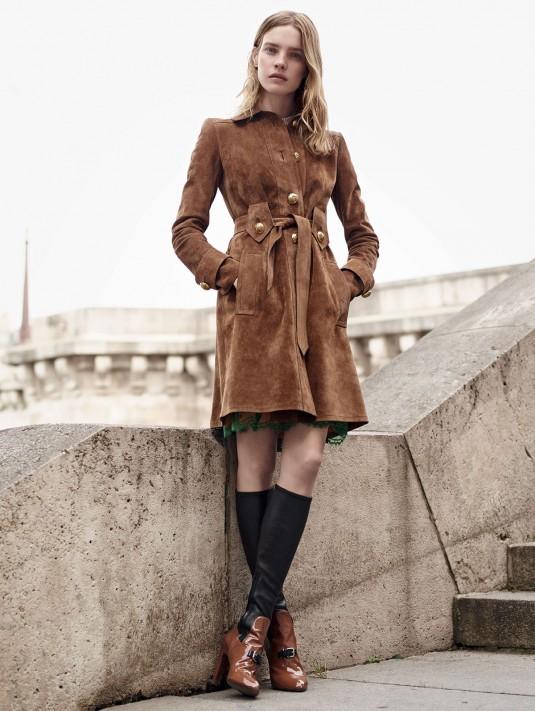 NATALIA VODIANOVA for Vogue Magazine