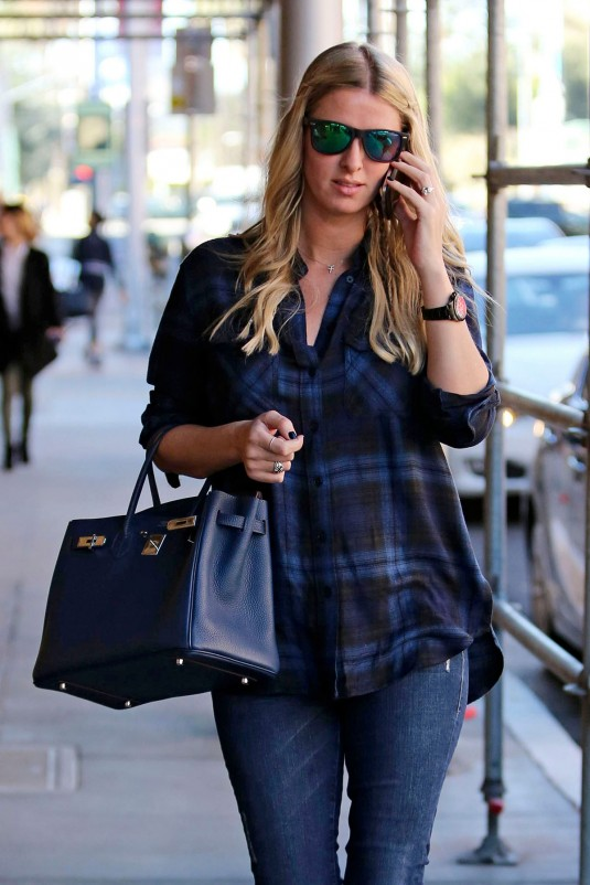NICKY HILTON Out in Los Angeles
