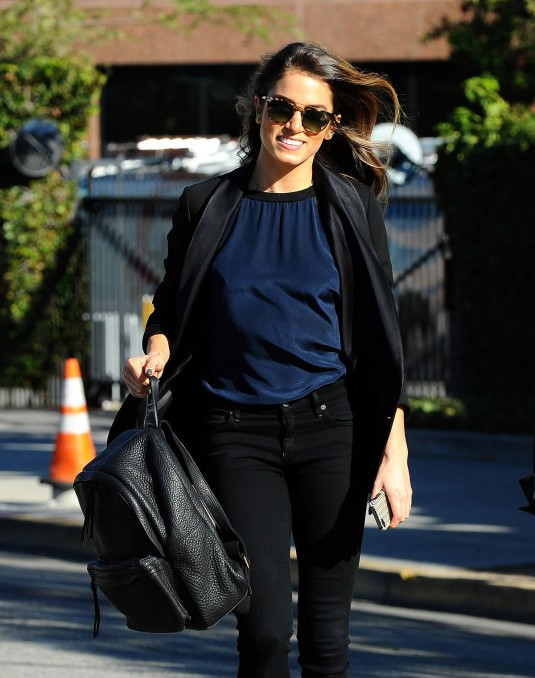 NIKKI REED Out in Los Angeles