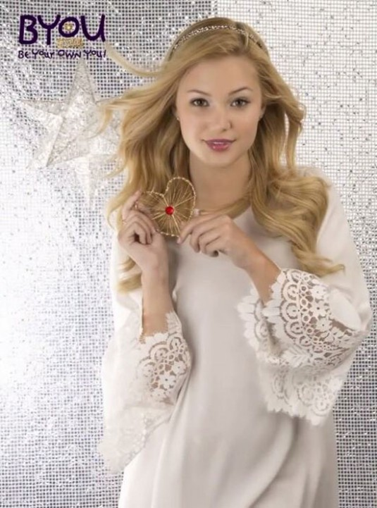 OLIVIA HOLT in BYOU Magazine