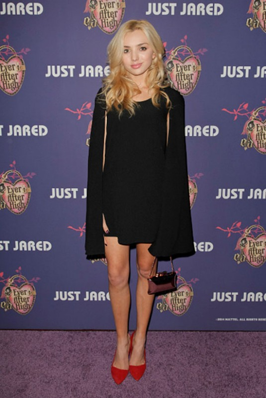 PEYTON LIST at Just Jared's Homecoming Dance in Los Angeles