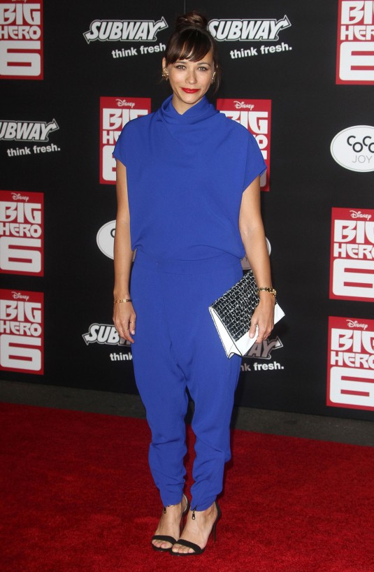 RASHIDA JONES at Big Hero 6 Premiere