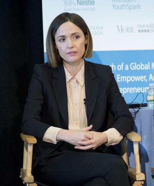 ROSE BYRNE at Women's Entrepreneurship Day