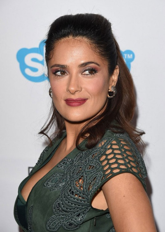 SALMA HAYEK at Equality Now's Make Equality Reality