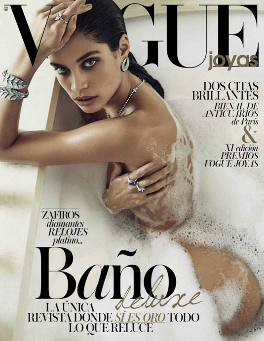 SARA SAMPAIO on the Cover Vogue Joyas Magazine