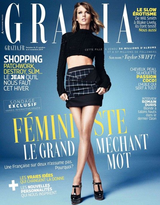 TAYLOR SWIFT in Grazia Magazine
