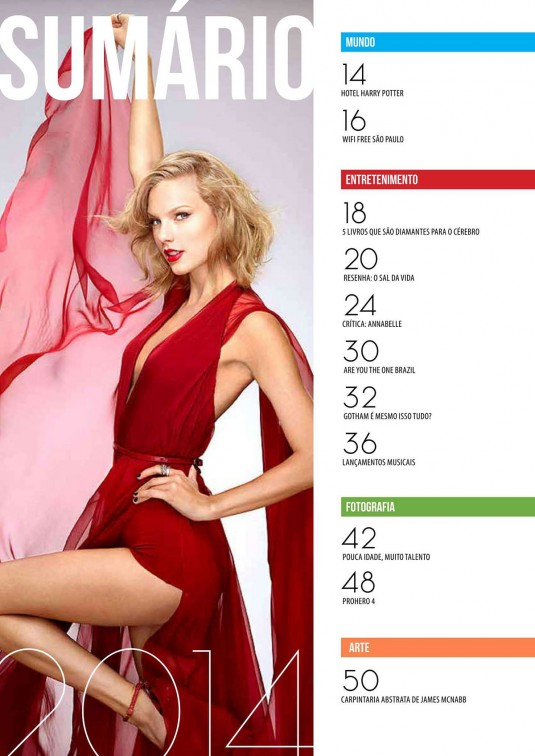 TAYLOR SWIFT in OpenMind Magazine