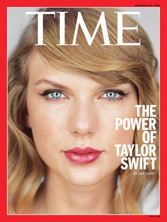 TAYLOR SWIFT in Time Magazine