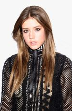 ADELE EXARCHOPOULOS at Louis Vuitton Monogram Celebration in New York