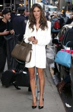 ADRIANA LIMA and ALESSANDRA AMBROSIO Arrives at Good Morning America in New York