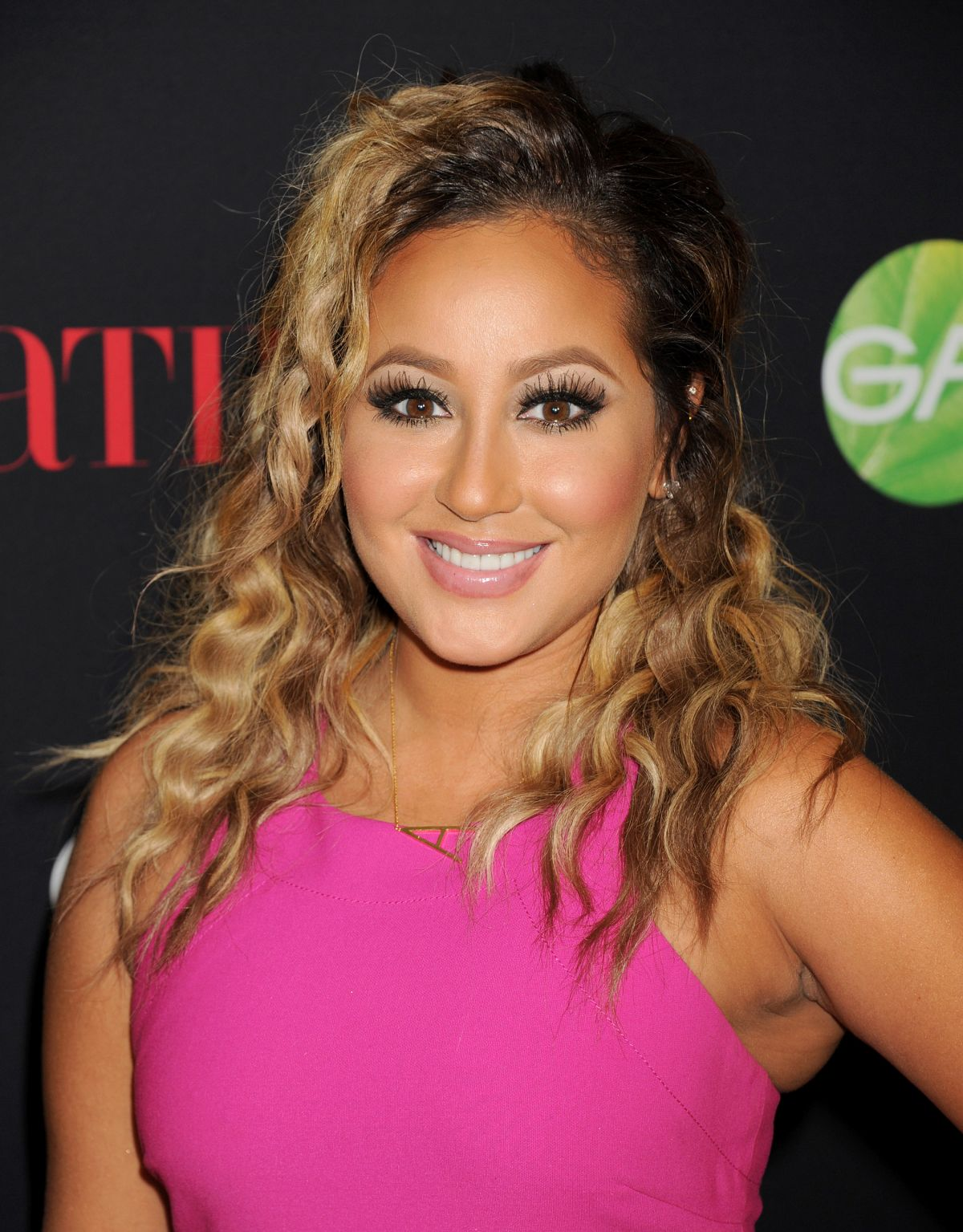 ADRIENNE BAILON at Latina Magazine's 30 Under 30 Party in West Hollywood