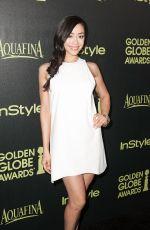AIMEE GARCIA at Hfpa & Instyle Celebrate 2015 Golden Globe Award Season