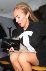 AISLEYNE HORGAN-WALLACE at Now Christmas Party in London