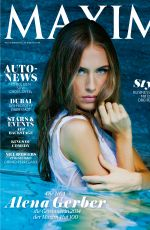 ALENA GRABER in Maxim Magazine, Switzerland November/December 2014 Issue