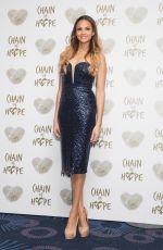ALESHA DIXON at Chain of Hope Gala Ball in London