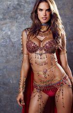 ALESSANDRA AMBROSIO - 2014 VS Fantasy Bra Preview