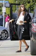 ALESSANDRA AMBROSIO at a Gas Station in Los Angeles