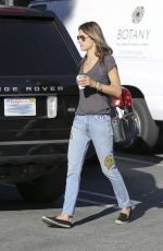 ALESSANDRA AMBROSIO in Jeans Out and About in Los Angeles