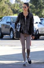 ALESSANDRA AMBROSIO in Tights Out and About in Los Angeles 1711