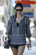 ALESSANDRA AMBROSIO Out and About in Santa Monica 0511