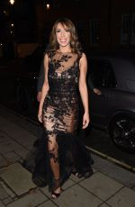 ALEX JONES Arrives at Katie Piper Foundation Ball in London