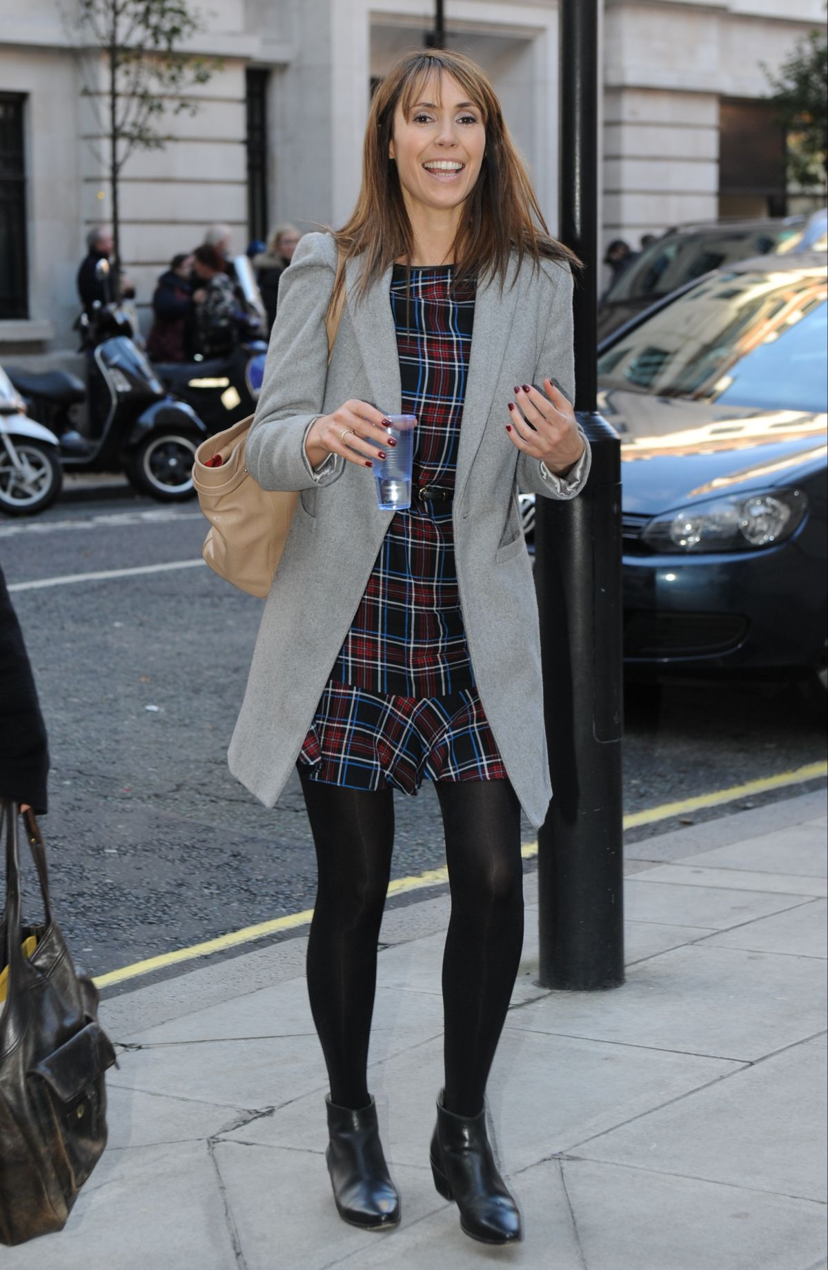 ALEX JONES Out and About in London 0711