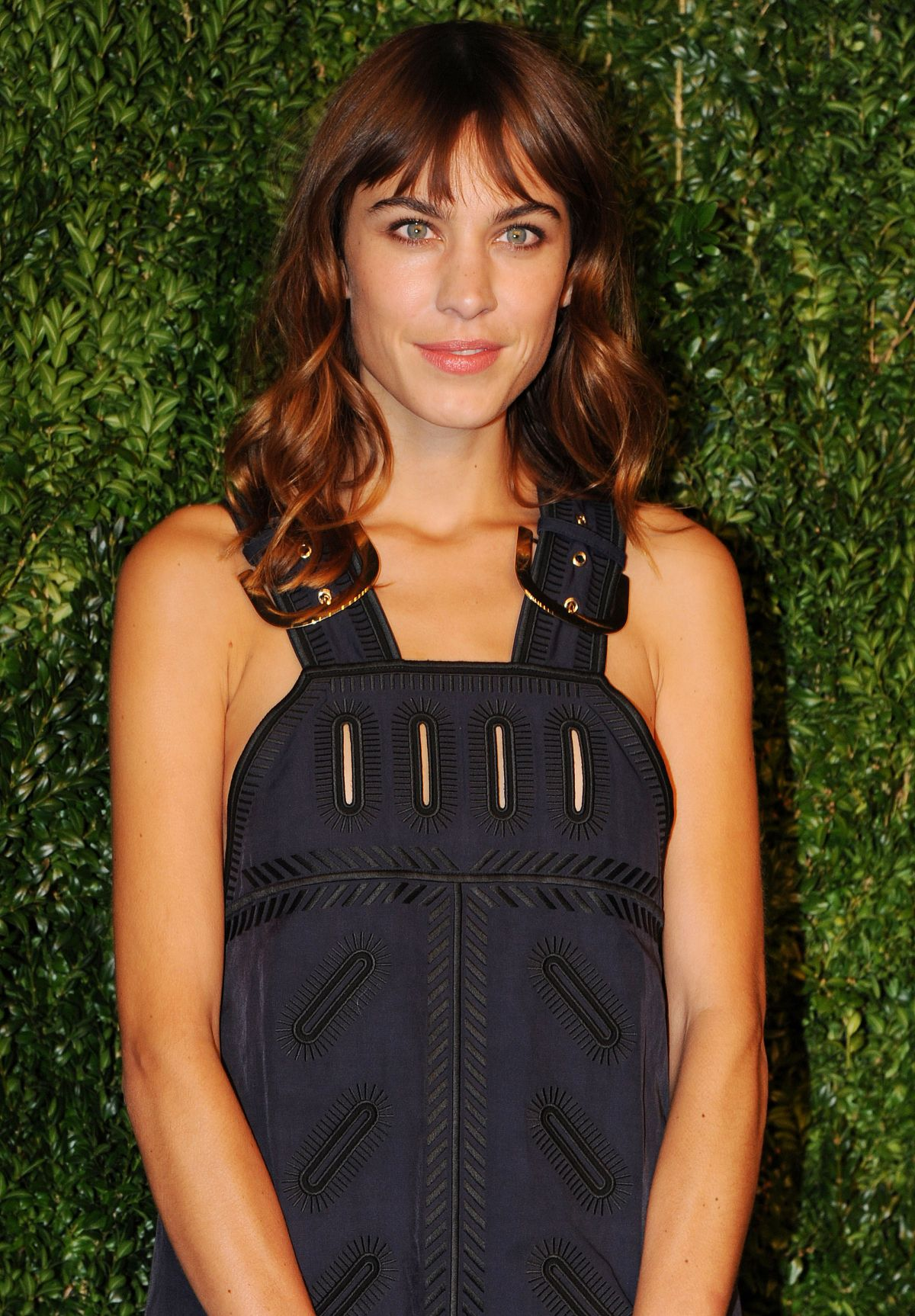ALEXA CHUNG at 2014 Cfda/Vogue Fashion Fund Awards in New York