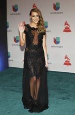 ALEXA VEGA at 2014 Latin Grammy Awards in Las Vegas