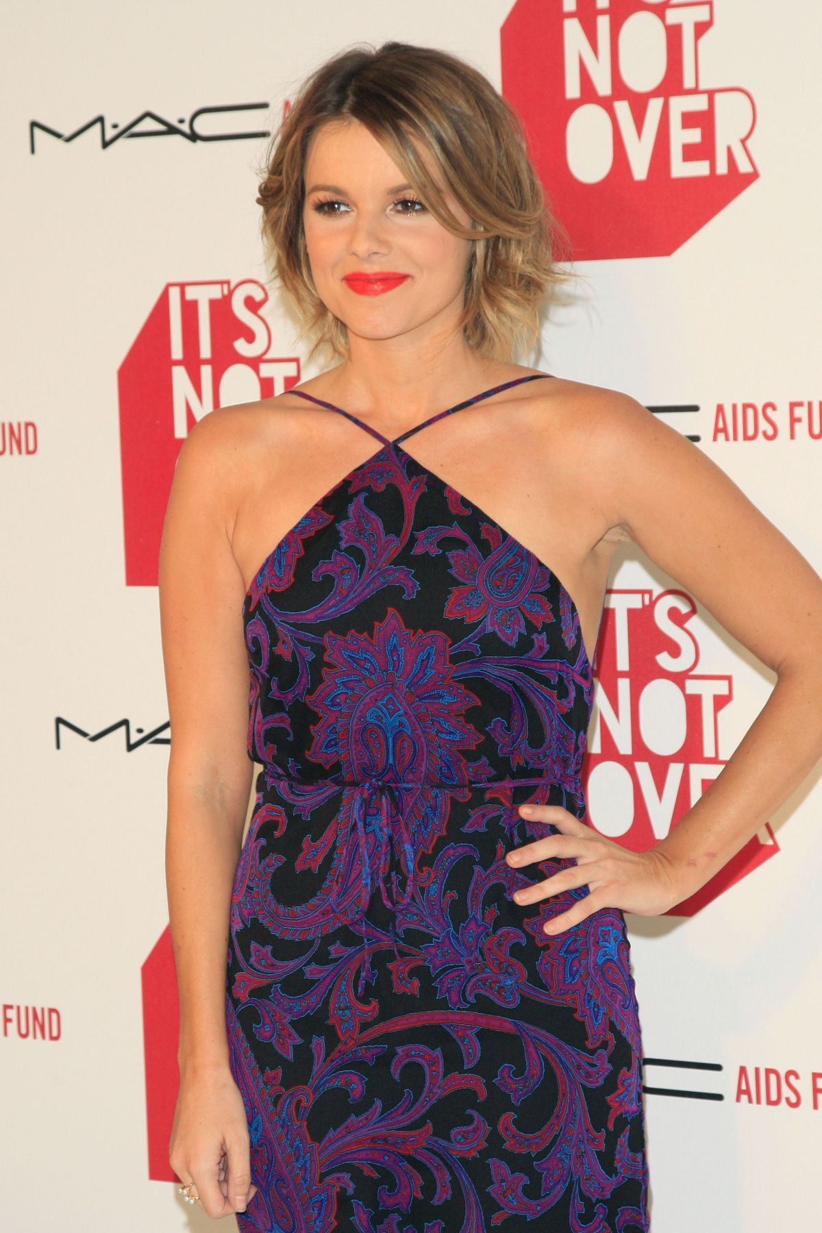 ALI FEDOTOWSKY at at It's Not Over Premiere in Los Angeles