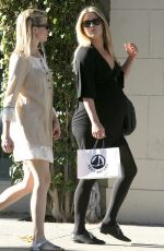 ALI LARTER and AMY SMART Out Shopping in Beverly Hills