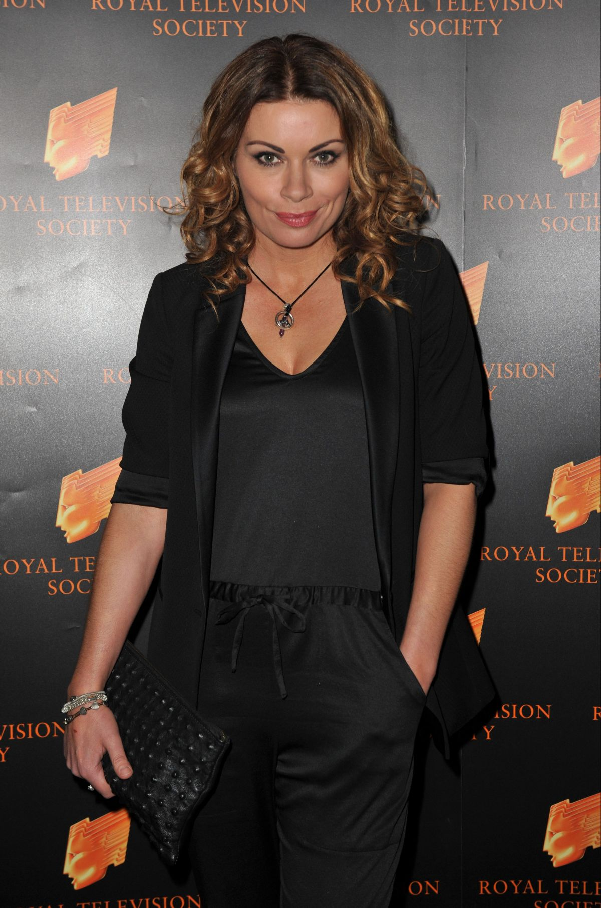 ALISON KING at RTS Awards 2015 in Manchester