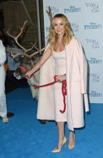AMANDA HOLDEN at Celebrity Singalong from Frozen at Royal Albert Hall